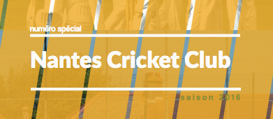 Magazine Nantes Cricket Club – 2016